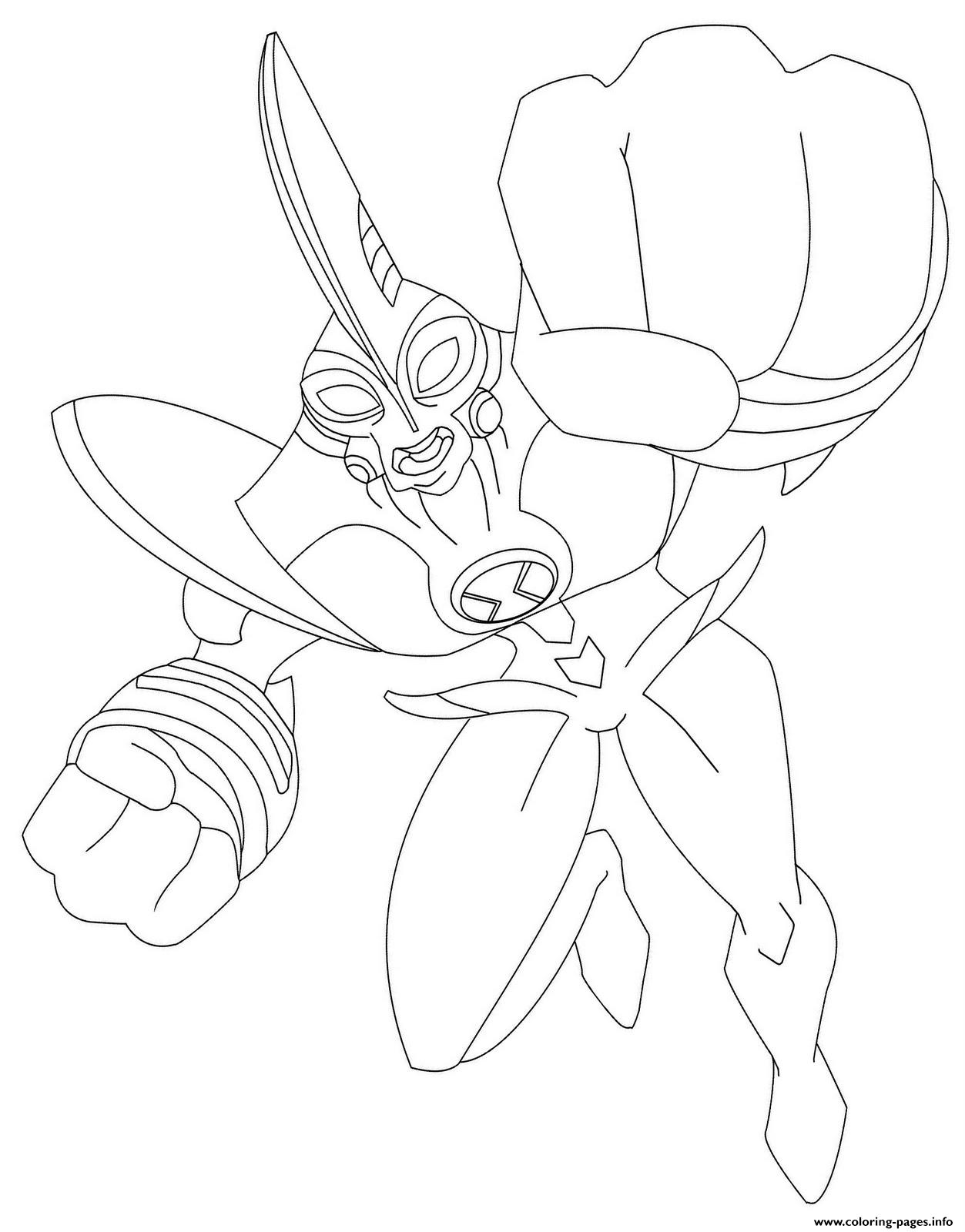 Dessin Ben 10 88 Coloring Pages