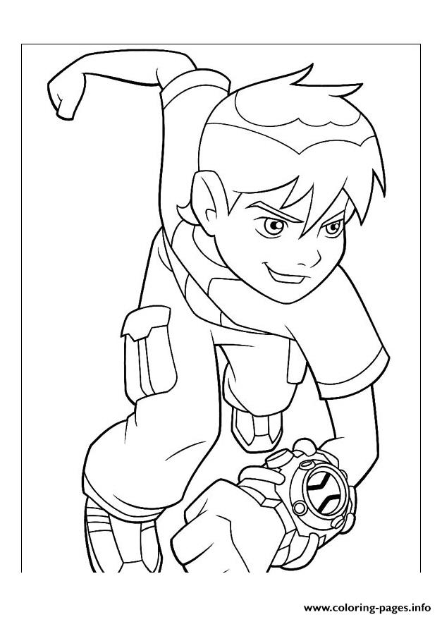 Dessin Ben 10 70 Coloring Pages Printable