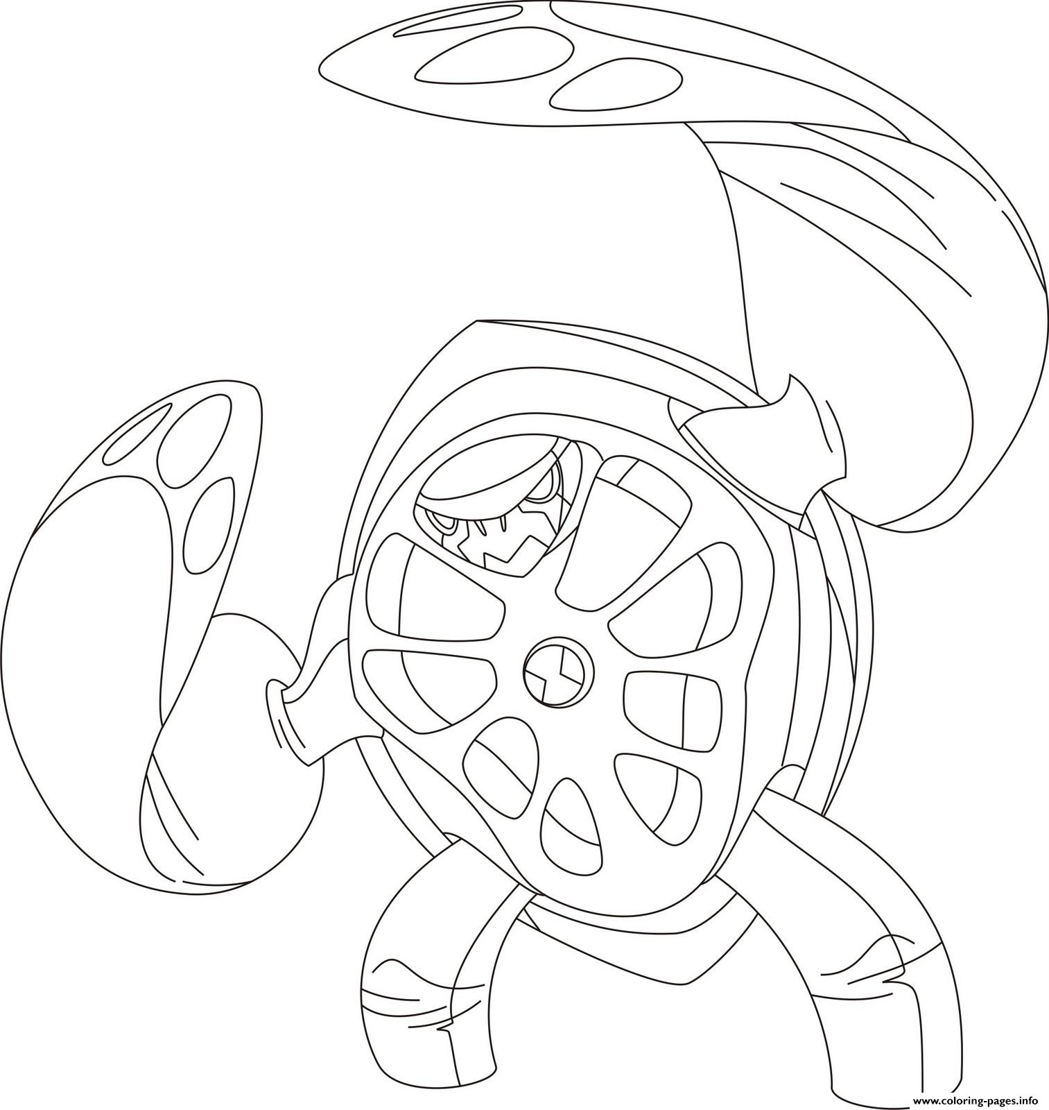 Dessin Ben 10 118 Coloring Pages Print Download