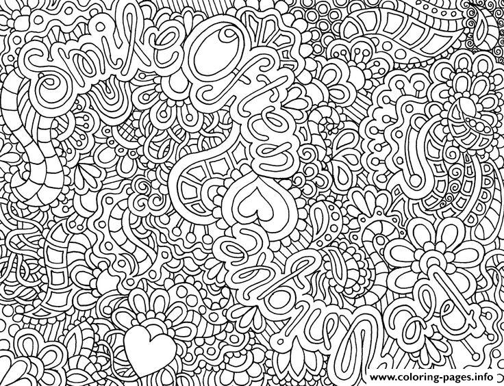 Zen Antistress Free Adult 16 Coloring Pages Printable