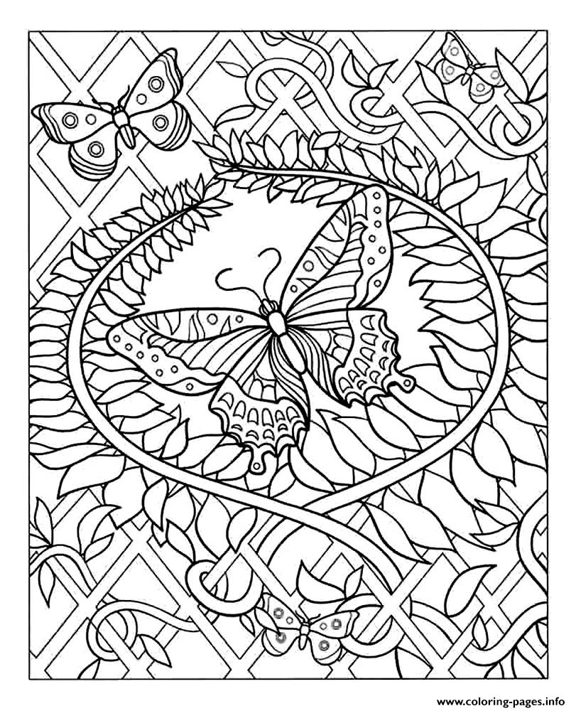 Zen Antistress Free Adult 15 Coloring Pages Printable