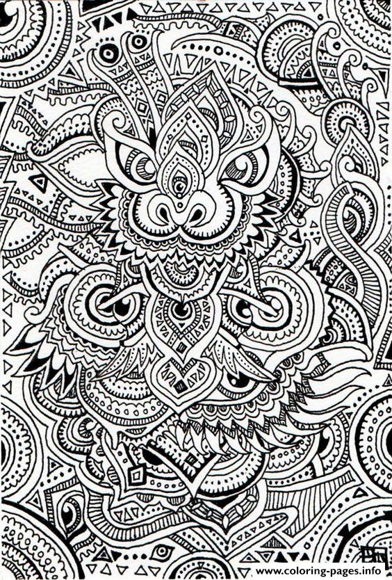 Zen Antistress Free Adult 22 coloring pages