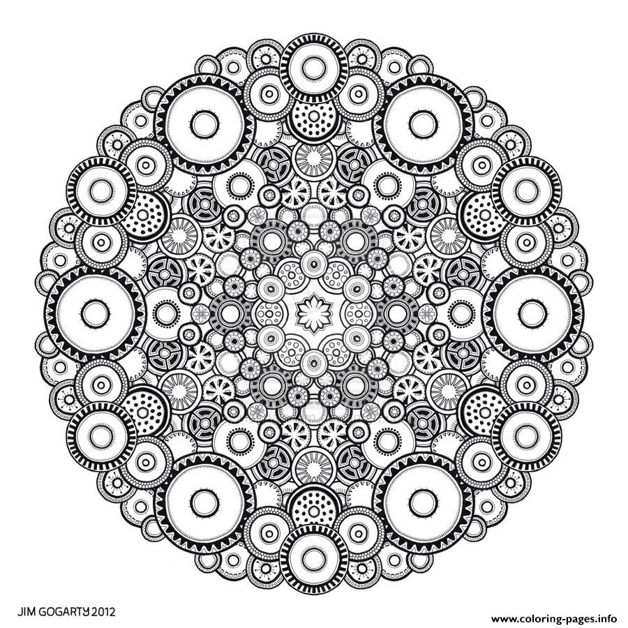 Zen Antistress Free Adult 13 Coloring Pages Print Download 584 Prints