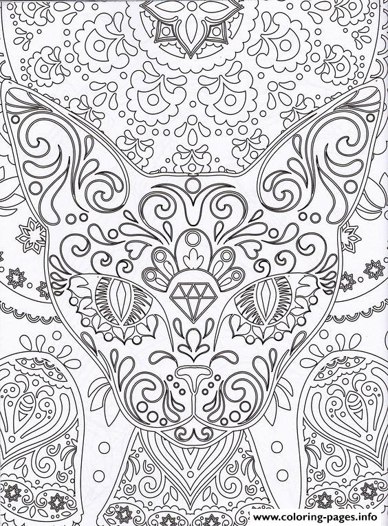 Printable Coloring Pages Zen : Zen antistress free adult 4 coloring pages printable