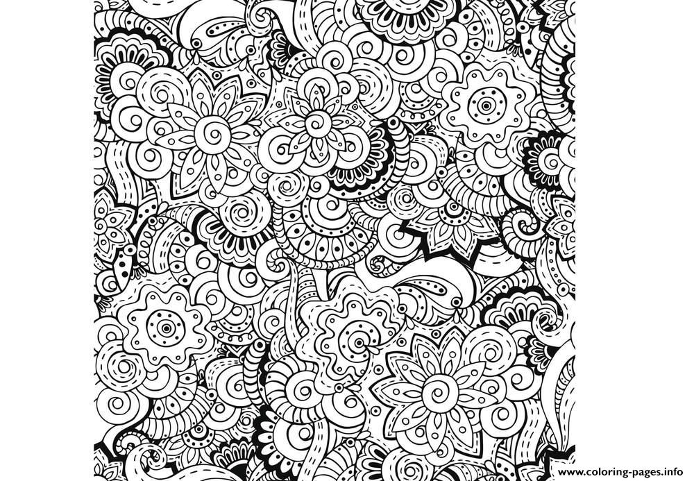 Zen Antistress Free Adult 23 Coloring Pages Print Download 573 Prints