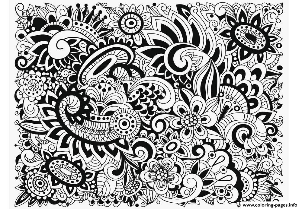 Zen Antistress Free Adult 8 Coloring Pages Print Download 500 Prints