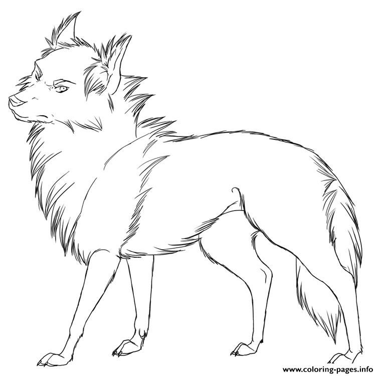 Cool Wolf S Printable Coloring Pages Printable