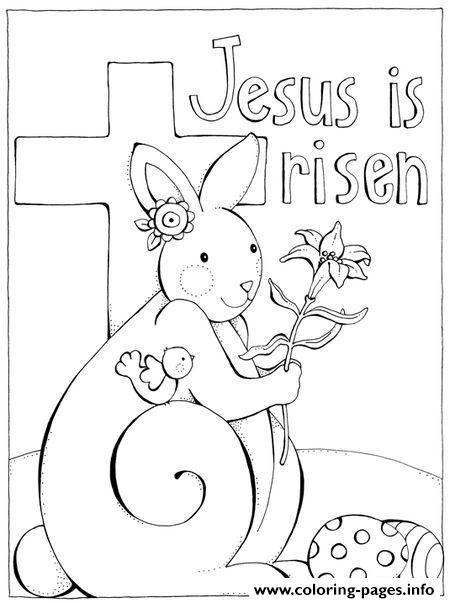 Easter Jesus Coloring Pages Printable