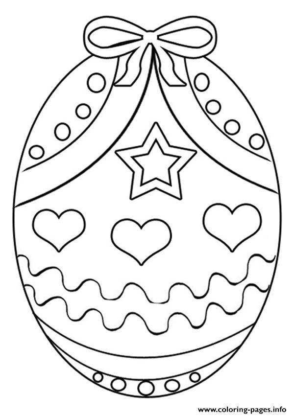 Easter Colouring Coloring Pages Printable