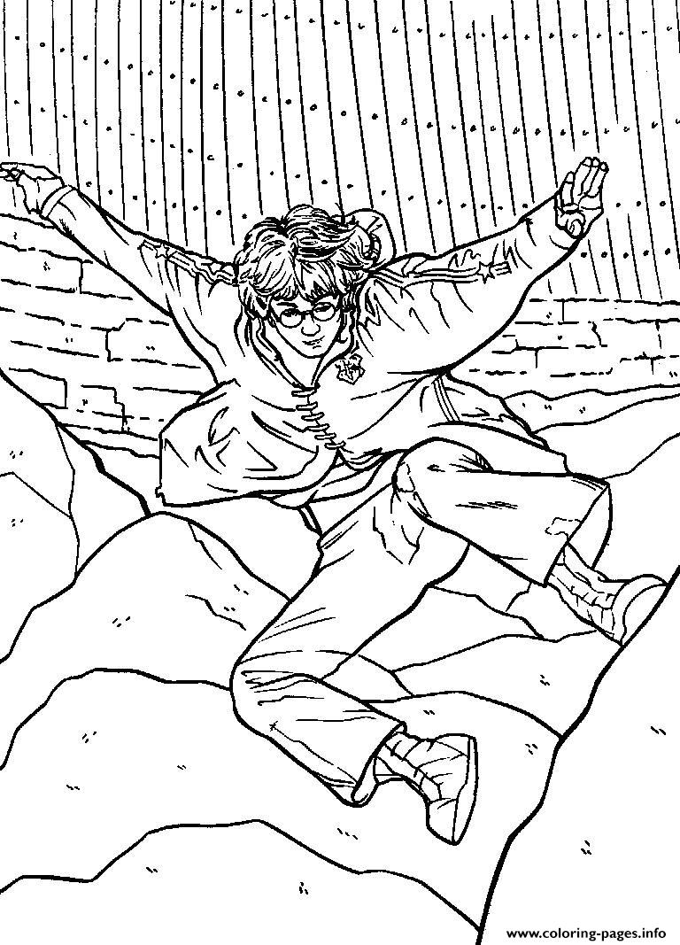 Harry Potters Printable coloring pages