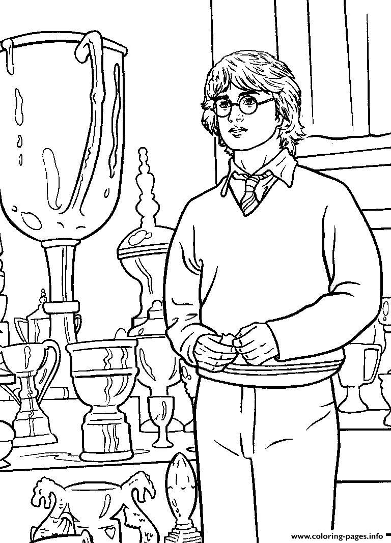 Harry Potter Coloring Sheets To Print Pages Printable