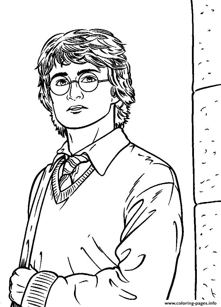Harry Potters For Kids To Print coloring pages