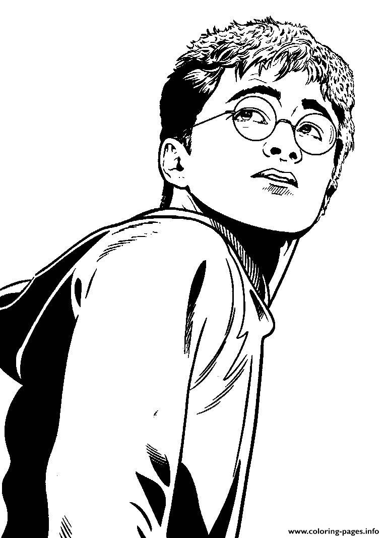 Free Harry Potters For Kids Coloring Pages Printable