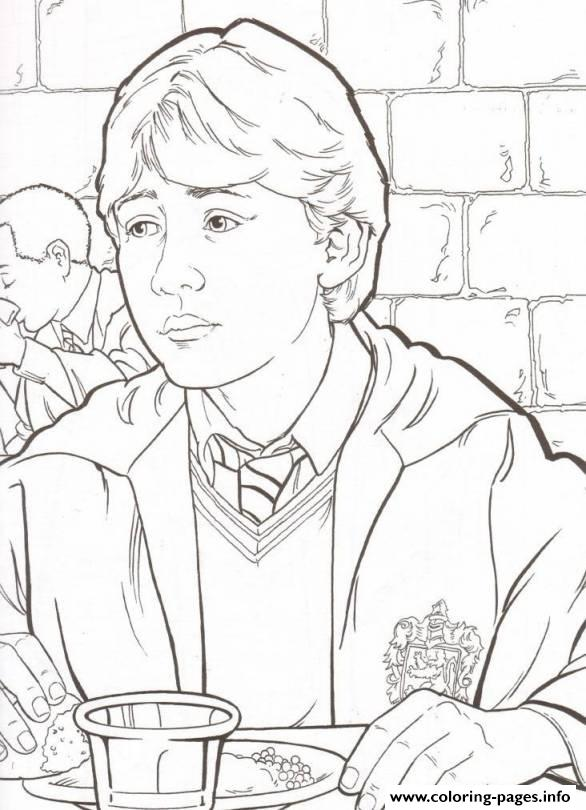 Ron From Harry Potter Coloring PagesFromPrintable Coloring Pages