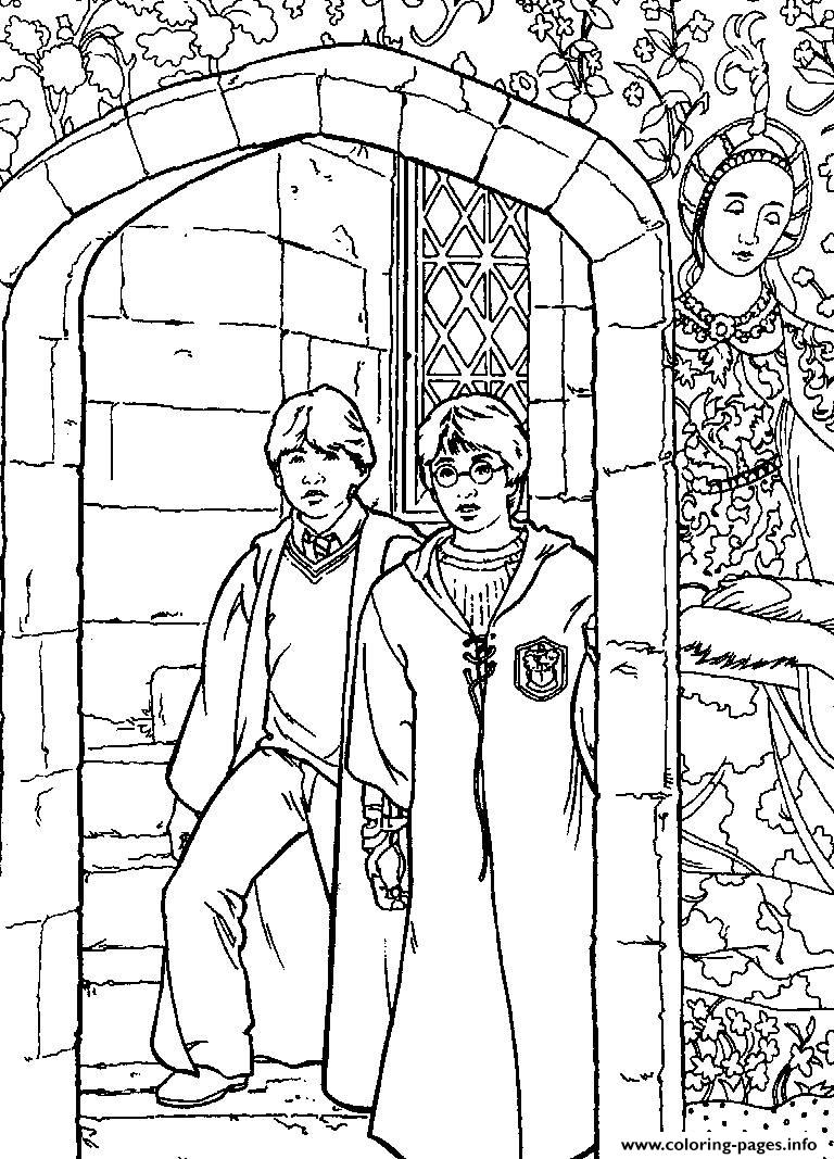 Printable Harry Potters For Kids coloring pages