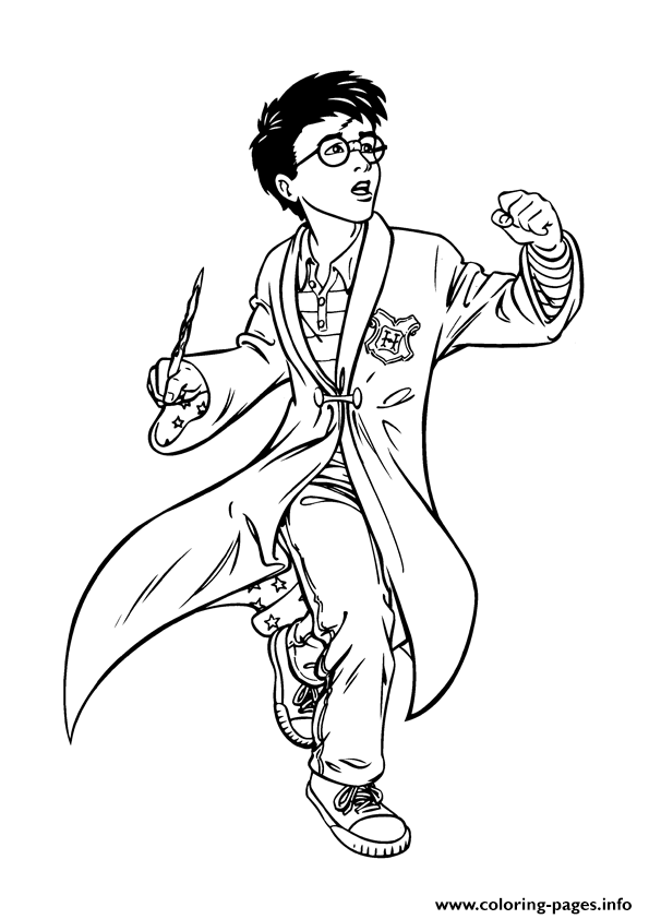 Harry Potter Coloring Sheet Coloring