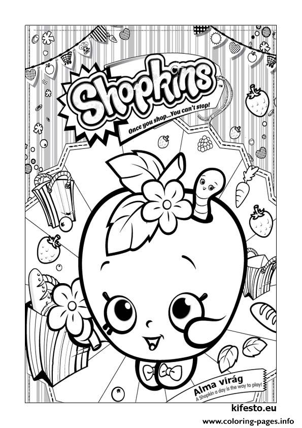 Shopkins Kifesto 003 Coloring Pages