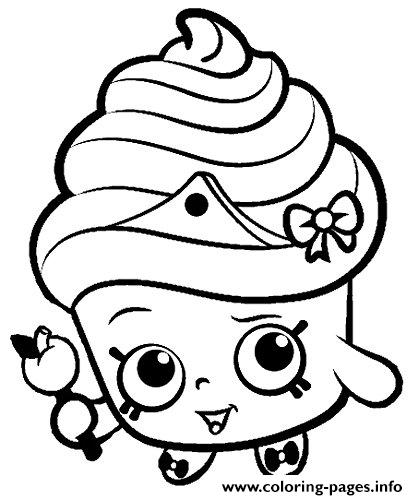 Shopkins For Kids Coloring Pages