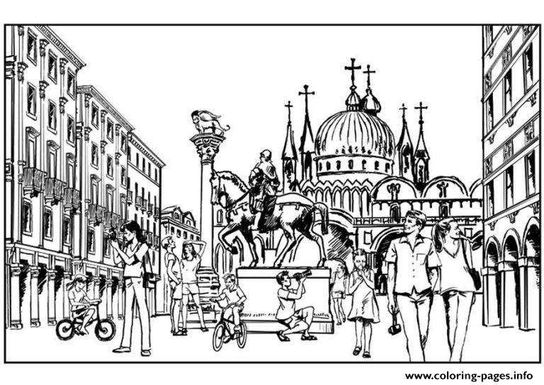 Rome City Pages616f Coloring Pages Printable