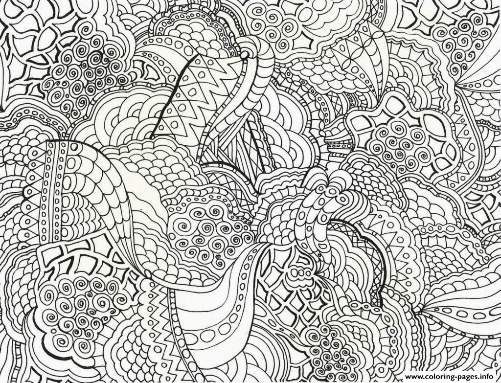 Adults Abstract Printable Free coloring pages