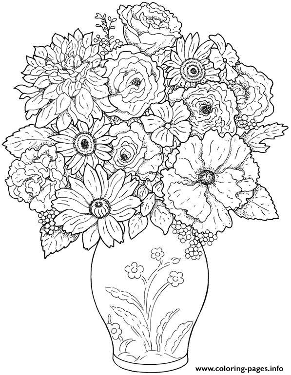hard coloring pages for adults - photo#29