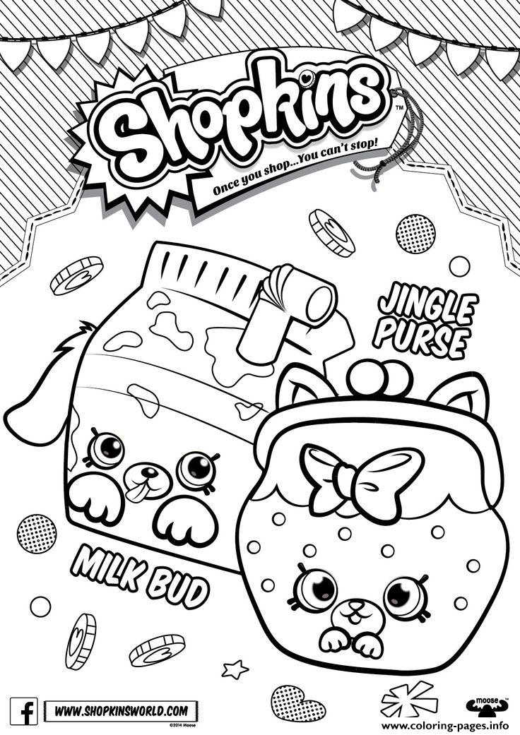 Shopkins Season 4 Coloring Pages Printable