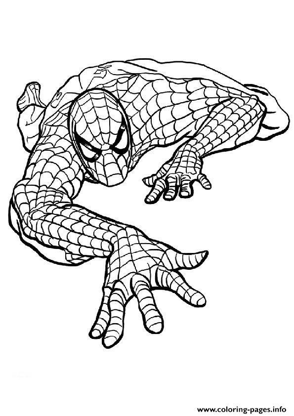 Spiderman S Kids Printablee156 Coloring Pages Printable
