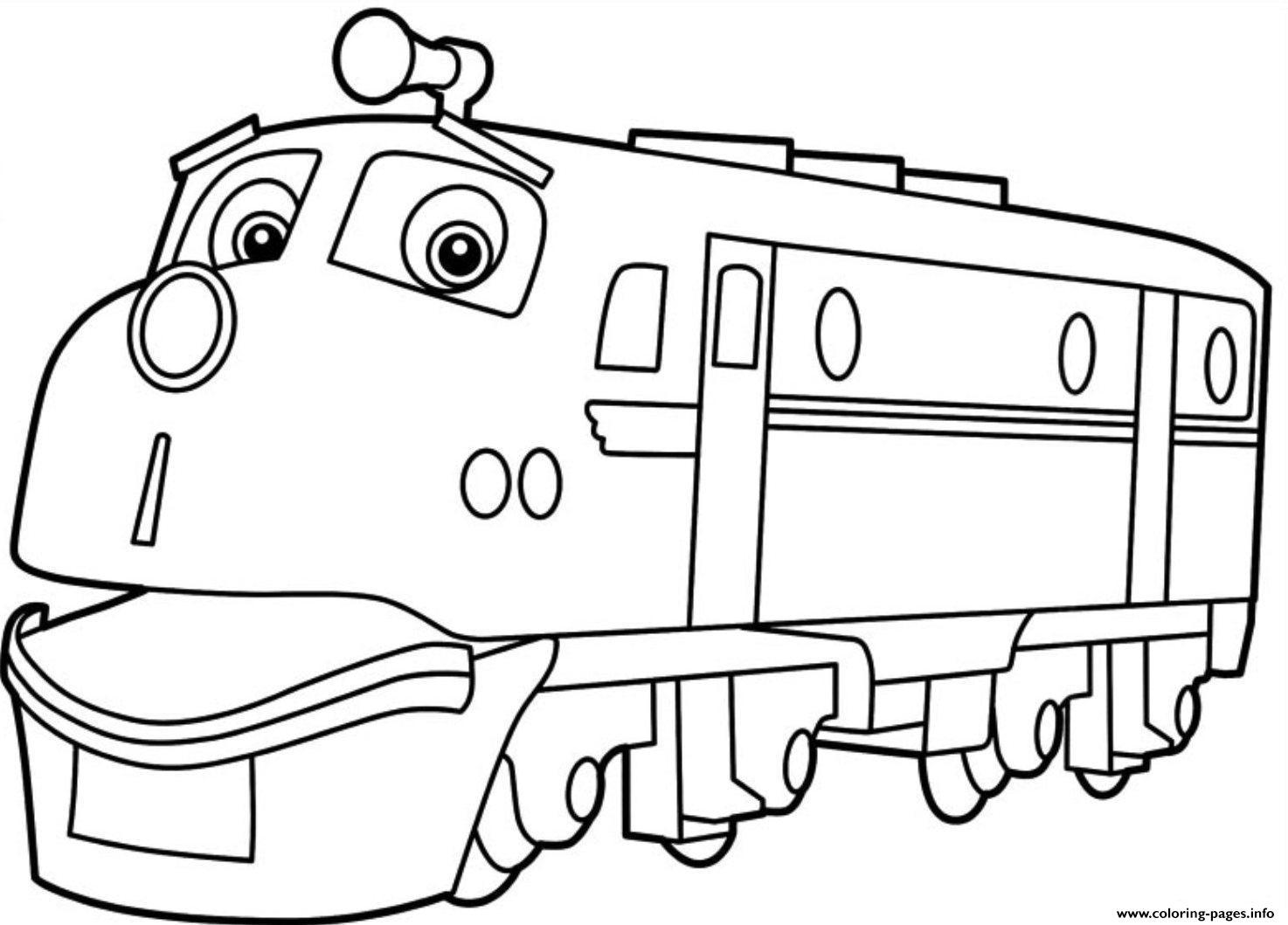 kids chuggington s3c5d coloring pages printable