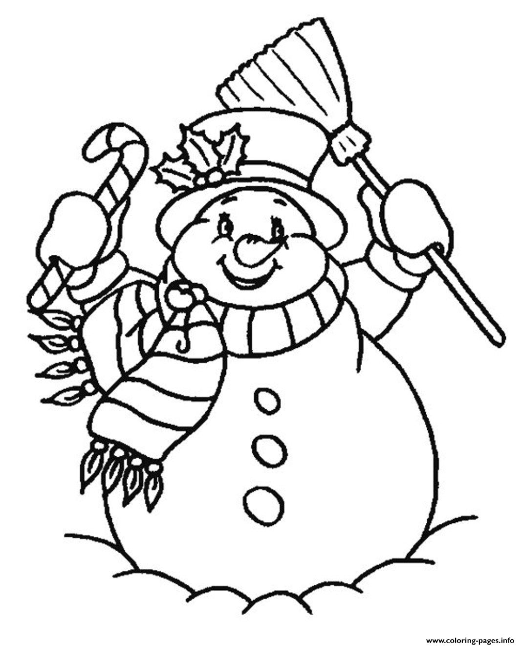 Free Snowman S For Kidsf978 Coloring Pages Printable