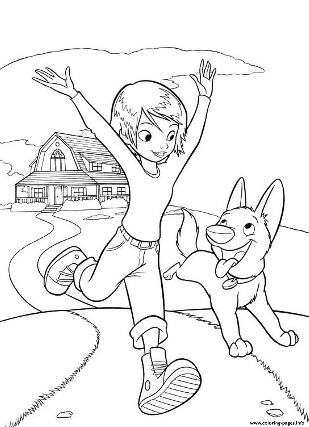 free printable cartoon s bolt for kids2317 coloring pages printable
