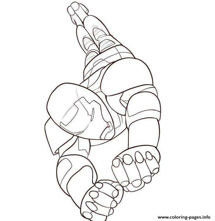 Flying Iron Man S For Kidsaee9 Coloring Pages Printable