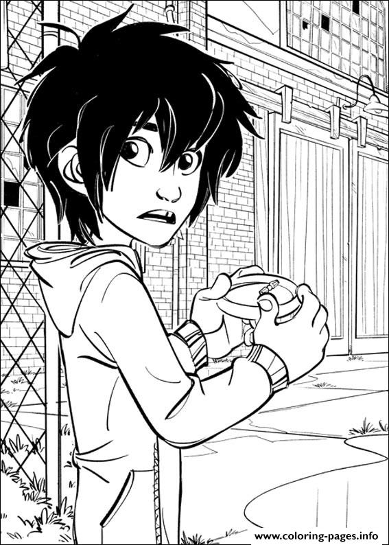 Big Hero 6 11 coloring pages