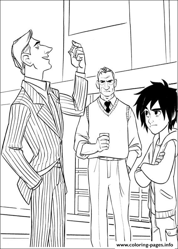 Big Hero 6 07 coloring pages