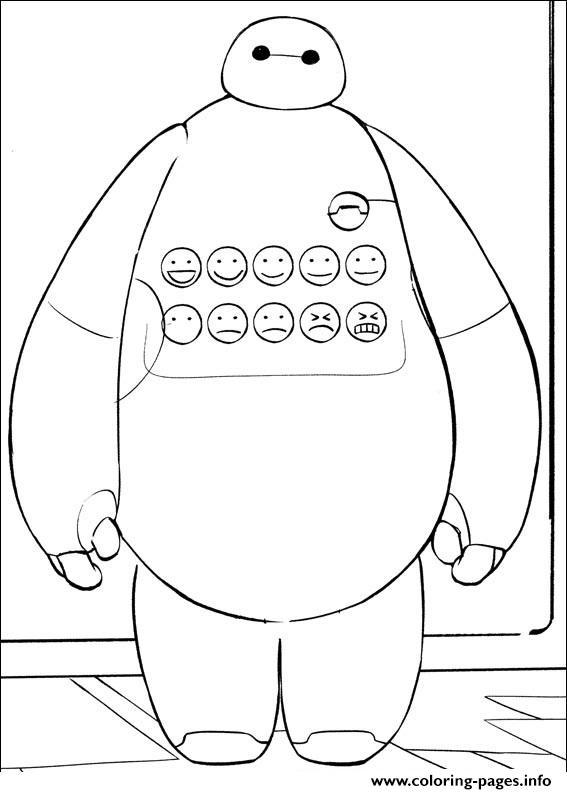 Big Hero 6 Coloring Pages | Disneyclips.com | 794x567