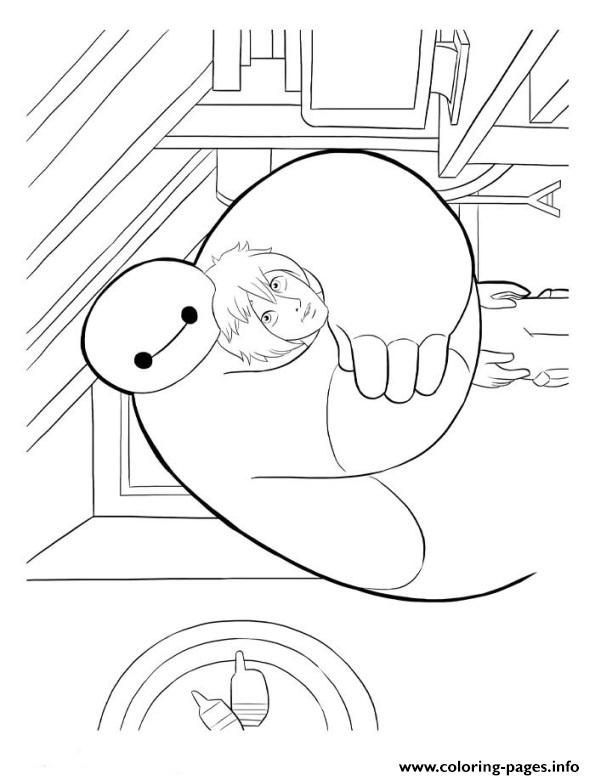 Big Hero 6 Coloring Pages Print Download