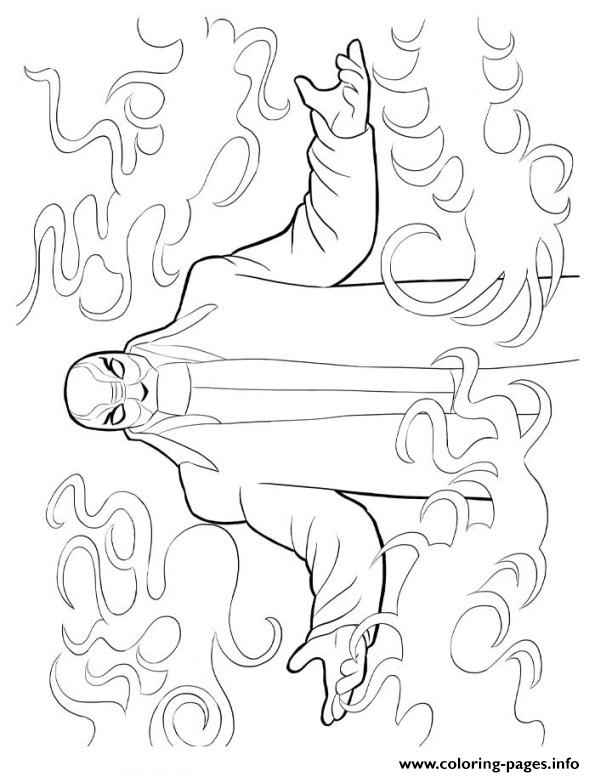 Yokai Coloring Pages Printable
