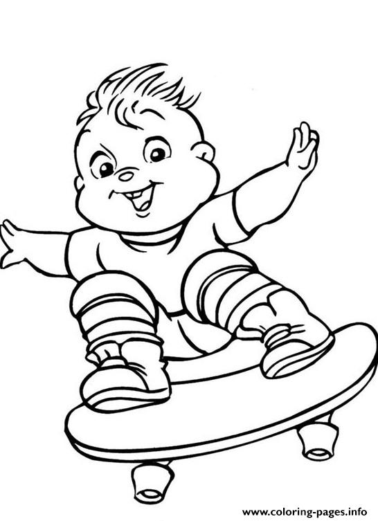 Alvin And The Chipmunks S4600 coloring pages