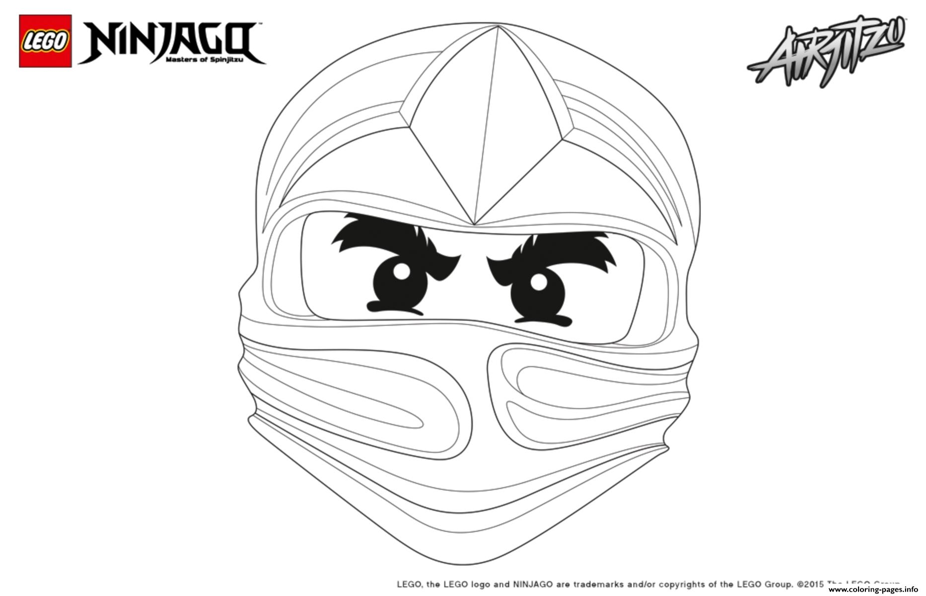 Ninjago Lego Cole  coloring pages