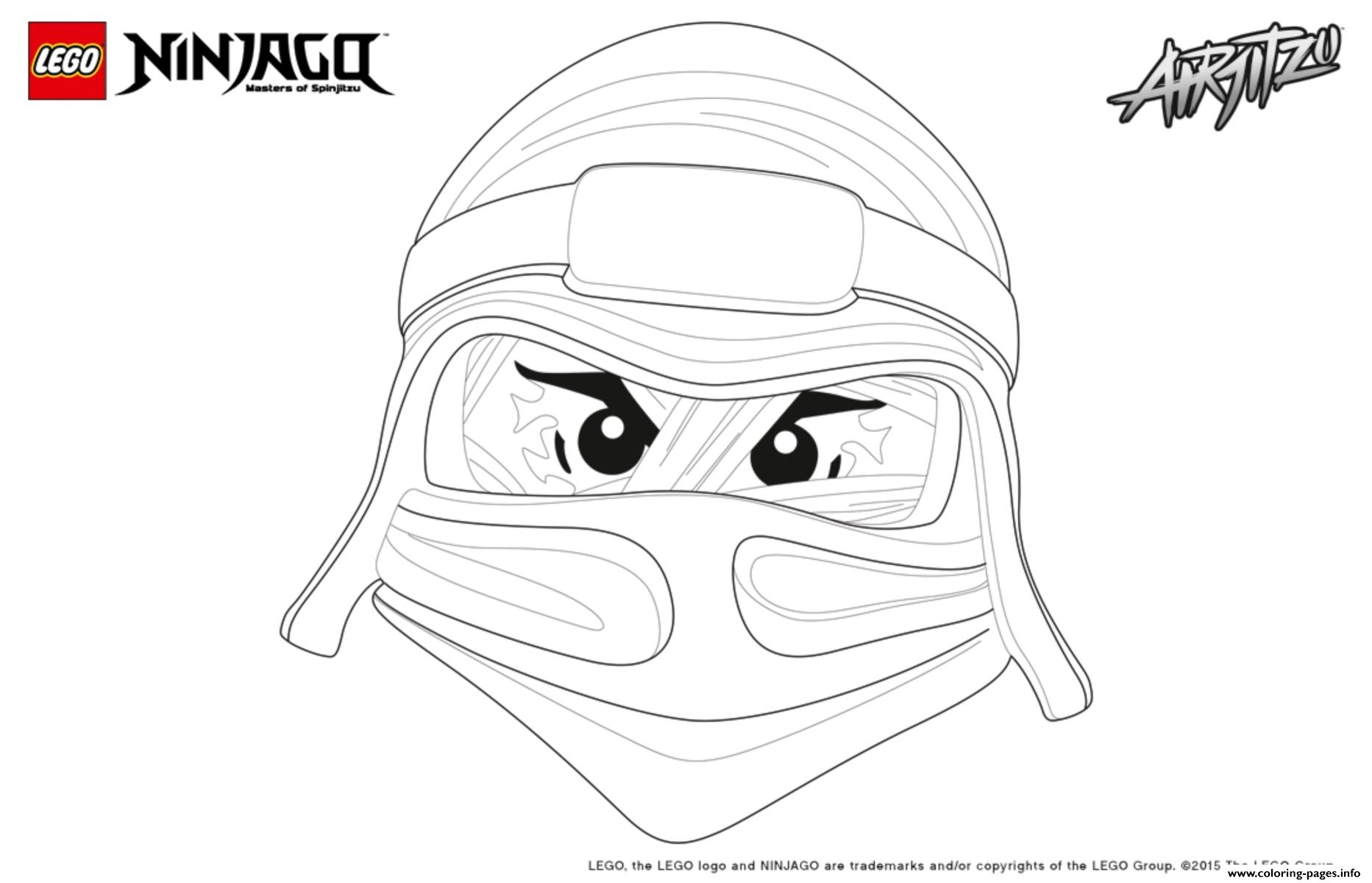 Ninjago Lego Lloyd Coloring Pages Printable