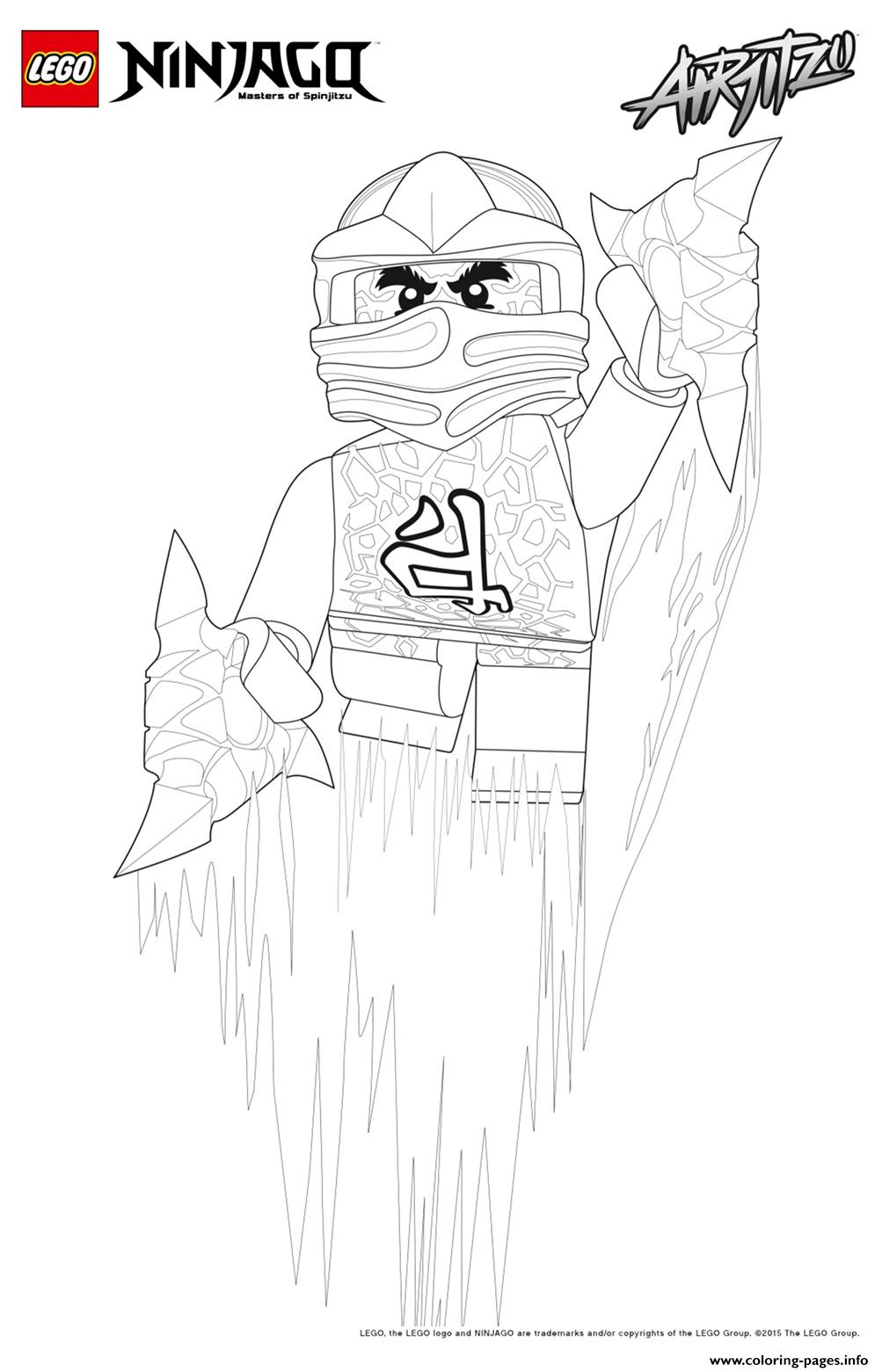 Kai Lego Ninjago Coloring Pages
