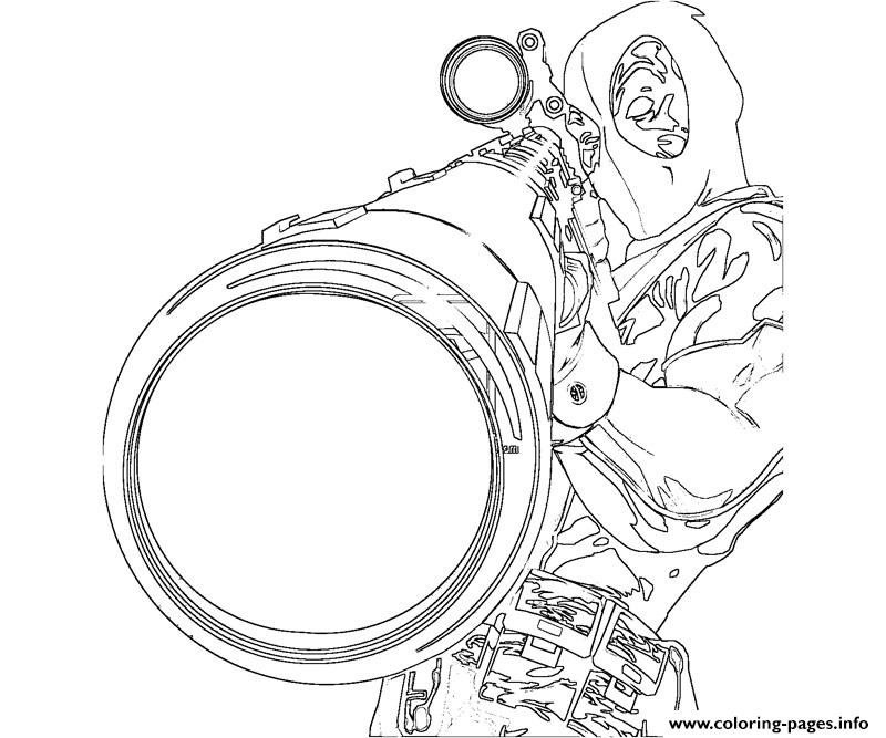 deadpool sniper Coloring pages Printable