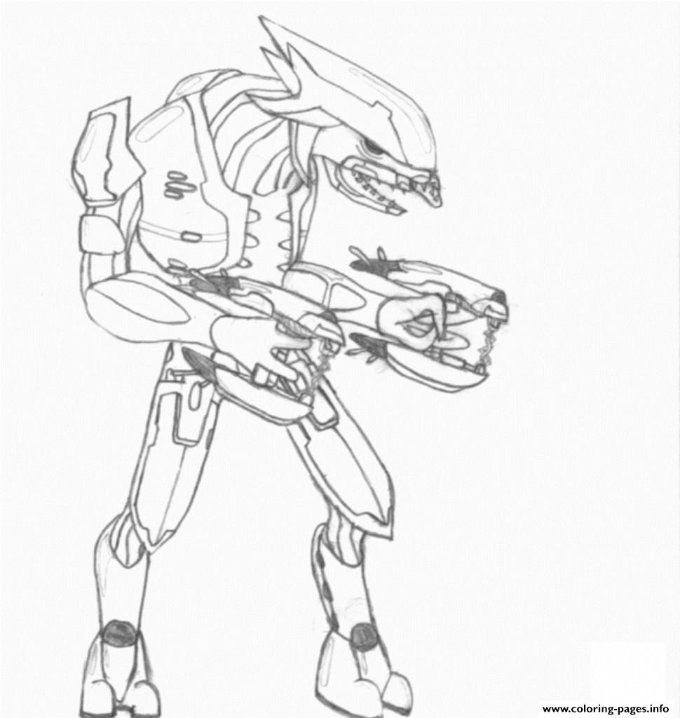Halo Coloring Pages To Print 970x1024 Printable