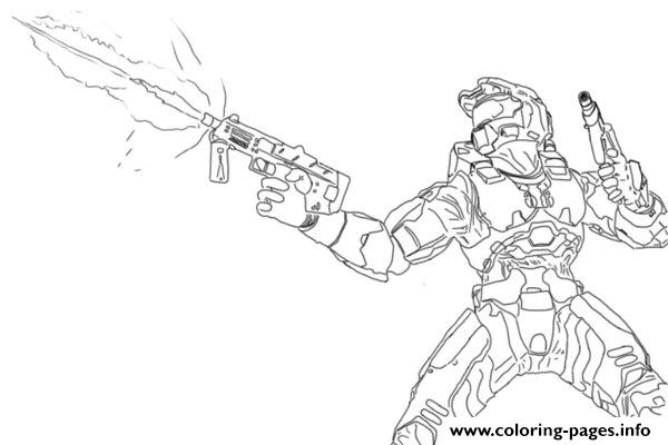 Halo Coloring Pages Photos Printable