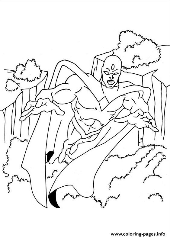 Captain America 05 coloring pages