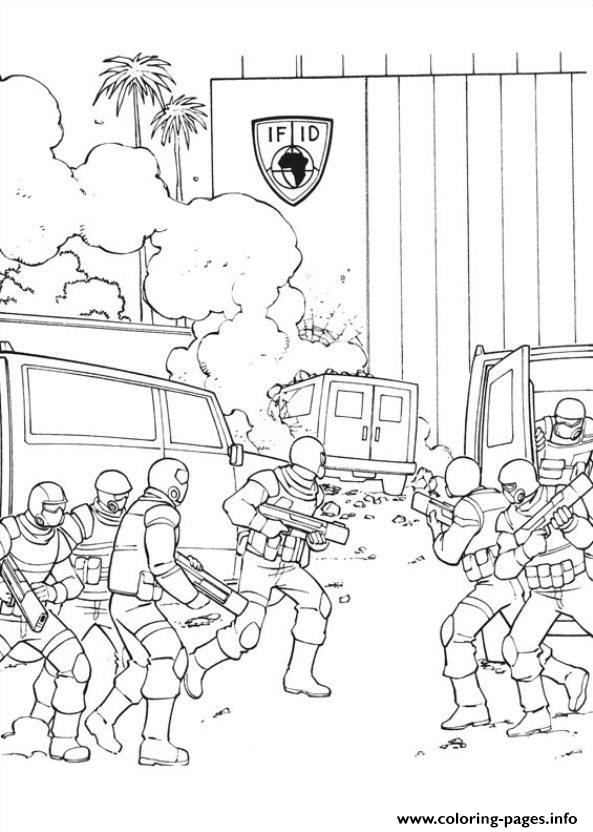 Captain America Civil War 03 Coloring Pages Printable