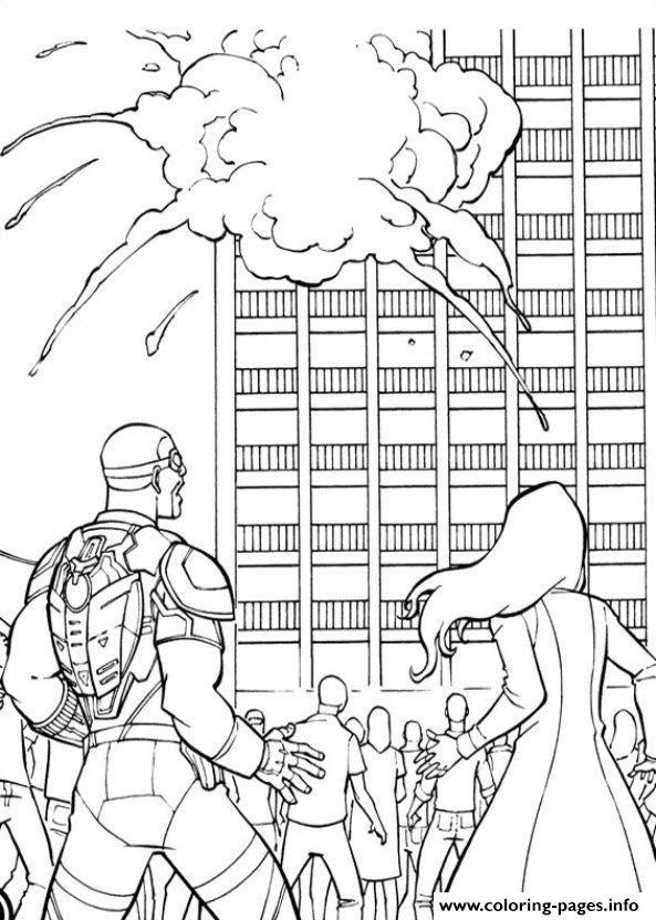 Captain America Civil War 15 Coloring Pages Printable