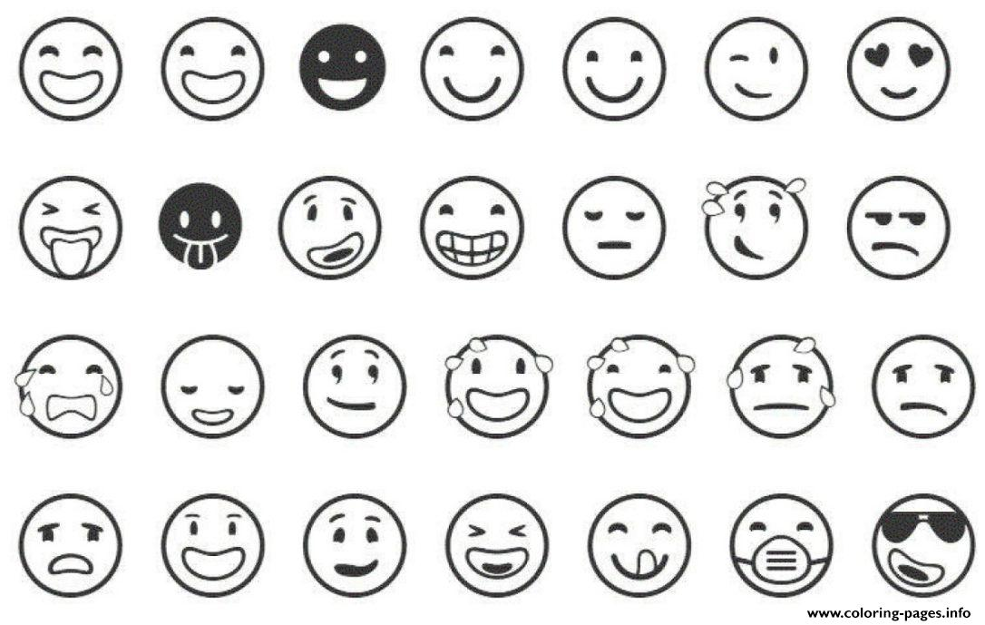 Clean image with regard to emoji printable sheets