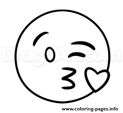 Emoji Coloring Pages | 361x394