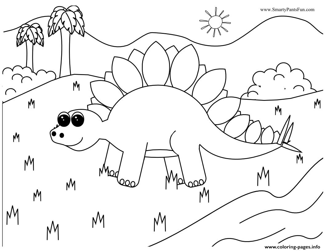 Dinosaur 228 coloring pages