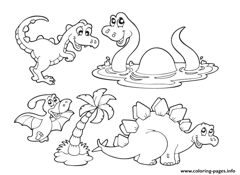 Dinosaur 336 coloring pages